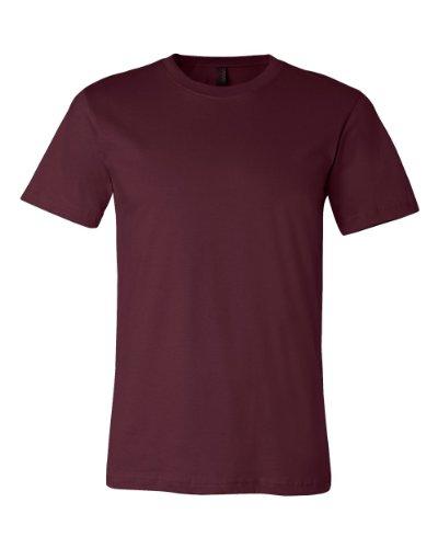 Canvas 3001 30s T-Shirt - Maroon - L