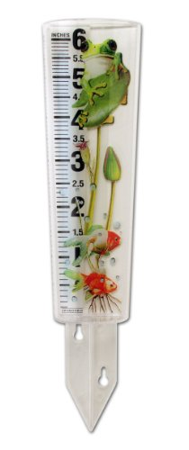Springfield Rain Gauge with Frog Design