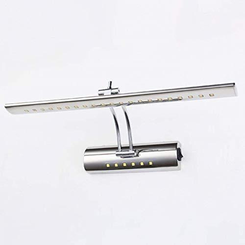 Zhomg$chuang RVS wandlamp LED badkamerspiegellamp, roestvrij staal badkamer waterdichte spiegel milieuvriendelijke lage energie badkamer! Opbouwlamp neutraal wit spiegelkastje