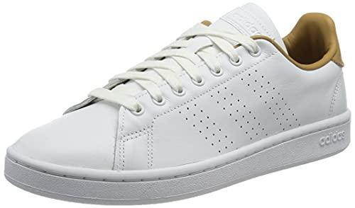 adidas Advantage, Zapatillas de Tenis Hombre, FTWBLA/FTWBLA/STBRON, 42 EU