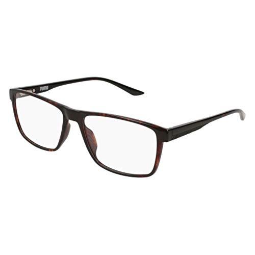 PUMA Brillen Gafas de Vista PU0133O DARK HAVANA 58/17/145 Unisex