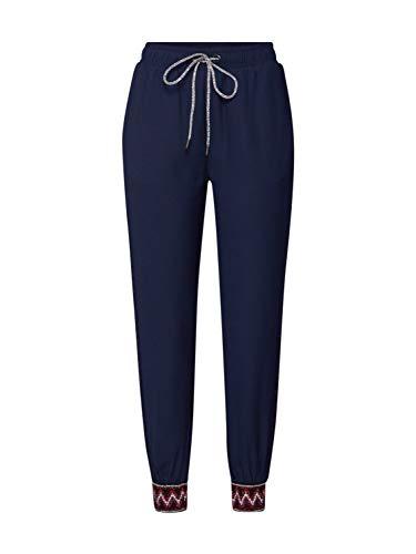 Desigual Pant_Isabella Pantalon, Bleu (Marino 5001), 40...
