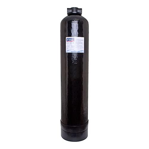 Vyair 0835 Recipiente de Resina Reforzada de Alta presión para la desionización del Agua (Negro) (25 litros) Accesorios Hozelock vacíos