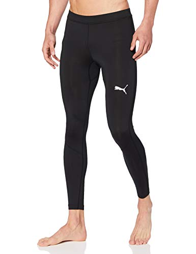 PUMA LIGA Baselayer Long Tight Pants, Hombre, Puma Black, L