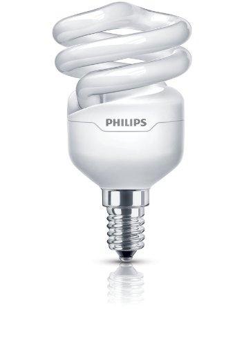 Philips Tornado 871829111716200 8W E14 A Bianco caldo lampada fluorescente energy-saving lamp