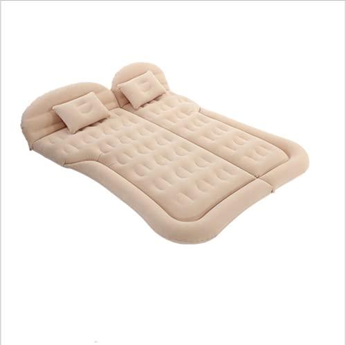 YEPLINS - Colchón inflable para coche, cama de coche, colchón inflable para coche, para coche, viajes, camping, autoconducción,