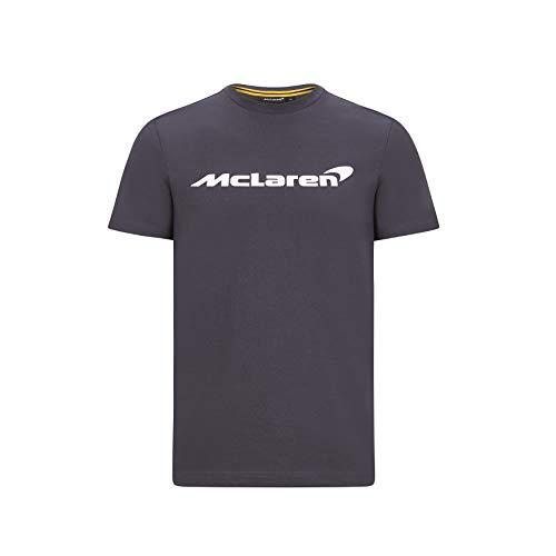 McLaren - Offizielle Formel 1 Merchandise 2020 Kollektion - Herren - Essentials Tee - Kurze Ärmel - Anthrazit - Größe L