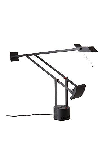 Artemide Tizio lamp, hoogte max 119 lengte 78 cm, zwart