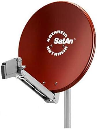 Kathrein CAS 80ro antena parabólica 75 cm marrón rojizo multifeedKat: Home entertainment/sistemas de antena