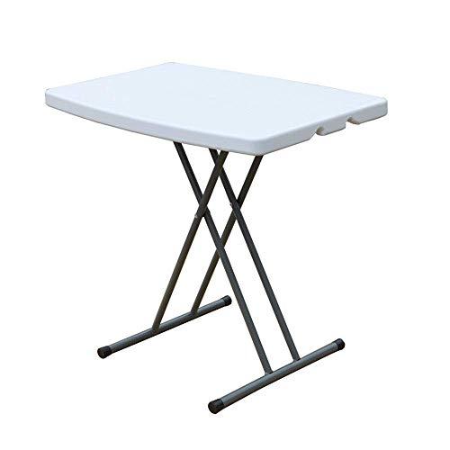 N/Z Wohngeräte Klappbarer Tisch im Freien Tragbarer Mini-Klapptisch im Freien Höhenverstellbarer Tischständer Integrierter Reise-Klapptisch Vielseitiger ultraleichter tragbarer Tisch