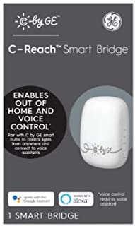 GE Lighting 93103864 C-Reach Smart Bridge, Voice Control - Quantity 4