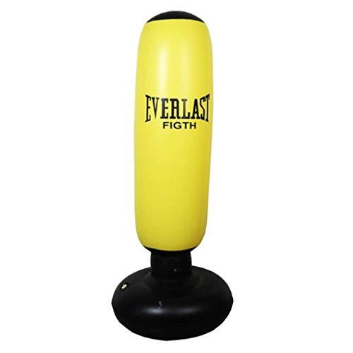 WGYDREAM Boxsack Standboxsack Standboxsack,Heavy Duty Boxsack Freistehendes Boxsack Aufblasbare Boxsack Tumbler Säule Sandbag Stehen Turm-Tasche Training Fitness Boxsack Aufblasbarer Standboxsack