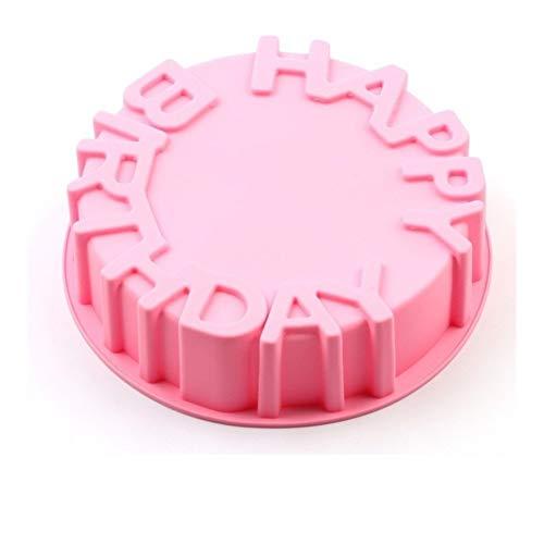 Weiggen Moule rond en silicone pour gâteau de cuisson en mousse pour décoration de gâteau