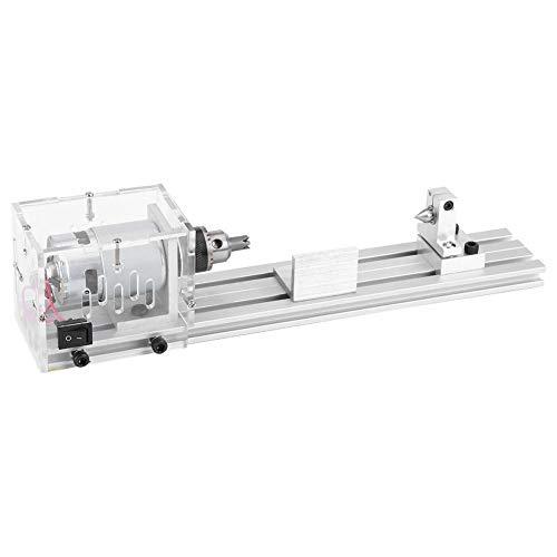 Buy Bargain Mini Lathe, 220V Mini Lathe Beads Machine Woodworking DIY Polishing Cutting Drill Rotary...