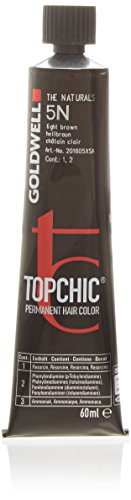 Goldwell Topchic Haarfarbe 5N, hellbraun, 60 ml, 1er Pack, (1x 0,06 L)