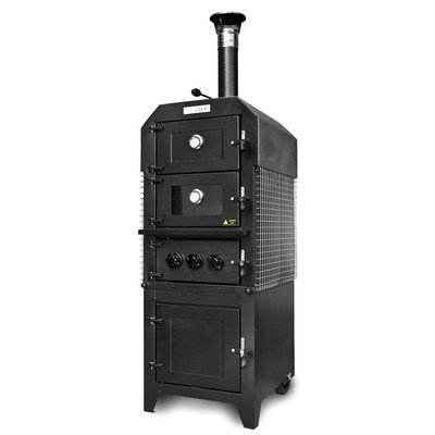 Hot Sale Wood-fired Pizza Oven Smoker with Optional Cover