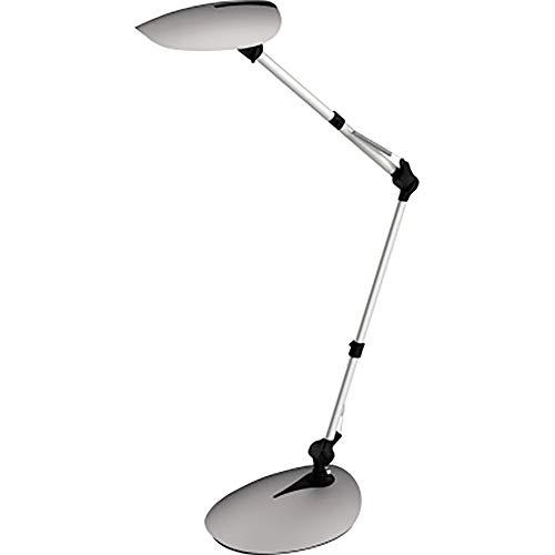 Wofi 8618.01.70.7000 Ella - Lámpara de mesa, color plateado