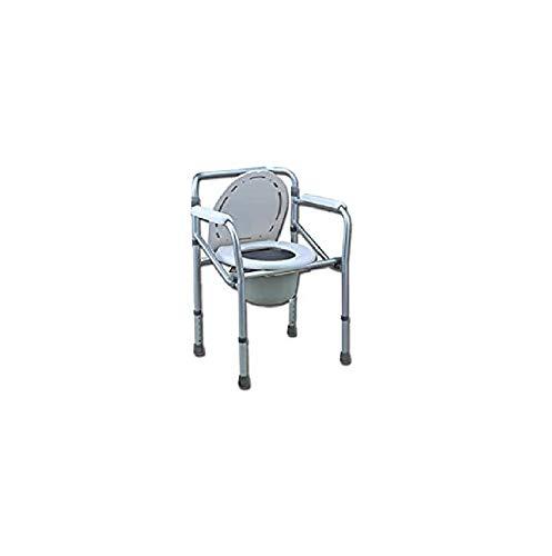 GIMA 27759 Comoda WC-doccia Rialzo WC, Altezza Regolabile 45-55cm