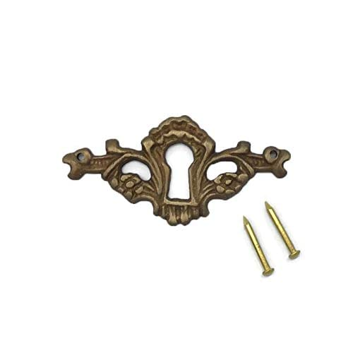 DOORS ETC KEYHOLE COVER PLATES ESCUTCHEONS FOR ANTIQUE VICTORIAN CABINETS