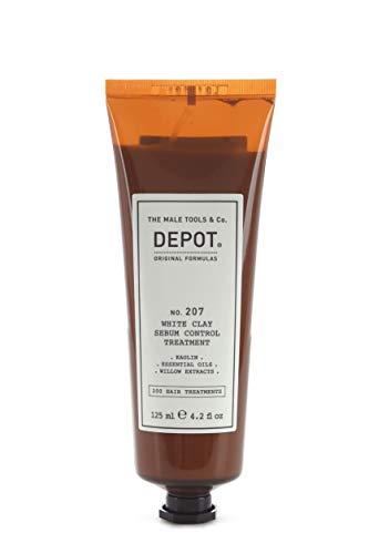 DEPOT NO. 207 WHITE CLAY SEBUM CONTROL TREATMENT ALL'ARGILLA BIANCA CAPELLI GRASSI 125 ML