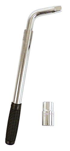 XL PERFORM TOOLS 552005 Clé Démonte-Roue Télescopique 17 et 19 mm