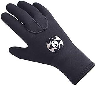 NA 3mm Diving Gloves,Neoprene Cold-proof Winter Swimming Snorkeling Equipment Underwater Nonslip Gloves