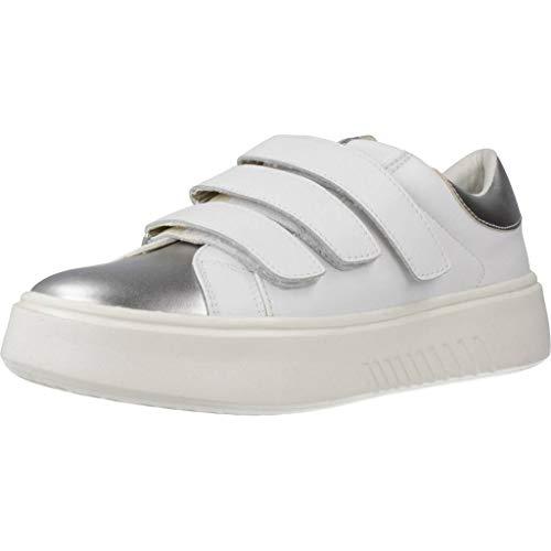 Geox D Nhenbus C, Sneakers Basses Femme, Blanc (White),...