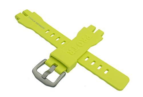 Casio ricambio Orologio da polso bracciale resina band Giallo per PRW 3000PRW 3000T PRW 6000PRW ilce-6000y 10470459