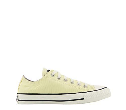 Converse All Star Low Naples Yellow Egret Multi Floral Exclusive - Zapatillas bajas con diseño...