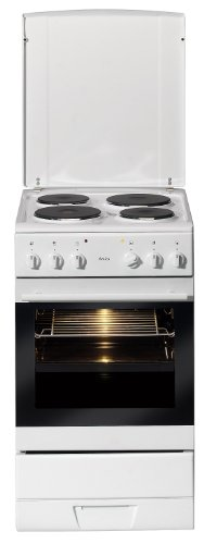 Amica SHE 11155 W Standherd / A / 0.95 kWh/Jahr / Steam - Clean / Infrarotgrill / weiß