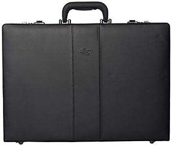 Solo New York Grand Central Attaché Case Briefcase with Combination Locks Black One Size
