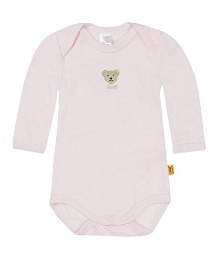 Steiff Collection Steiff Unisex - Baby Body 0008502, Gr. 56, Rosa (barely pink 2560)