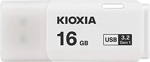 KIOXIA(キオクシア) 旧東芝メモリ USBフラッシュメモリ 16GB USB3.2 Gen1 日本製 国内正規品 1年保証 Amazon.co.jpモデル KLU301A016GW
