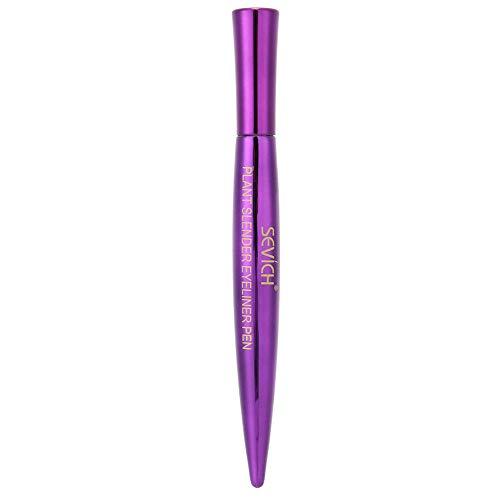 Hyjgjzjh Delineador De Ojos Lápiz Impermeable Duradero Delineador De Ojos Herramientas De Maquillaje Púrpura Profesional