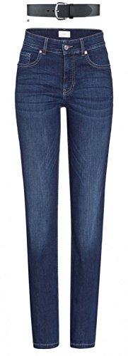 MAC Melanie Damen Jeans Hose 0380l504087 & draussen-aktiv.com Ledergürtel ., Farbe:D845;Größe:W46/L32