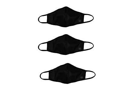 Pack de 3 Mascarillas Homologadas de Tela Reutilizable Negras
