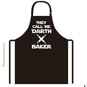 Star Wars Apron Adjustable Kitchen Grill BBQ Baking DIY Art Crafts DARTH BAKER