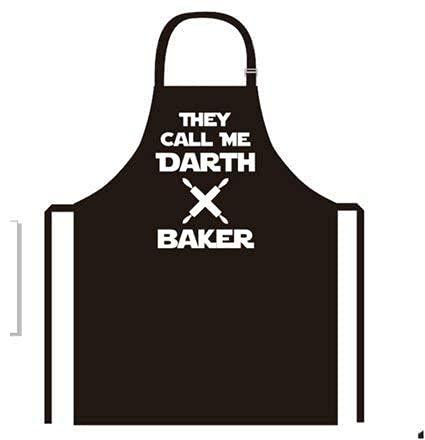 Positive Products Ireland Neue Kreative Darth Baker Schürze Küche Kochen Backen Grillen Schürze für Damen und Herren, Ihr Dinner Party zu Leben mit Unsere Neuheit Funny Kochschürze
