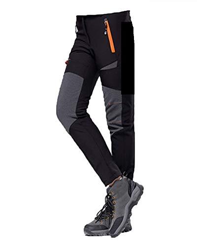 Unisex Pantalones De Esqui Baratos Snowboard Pantalones De Senderismo Trekking Hombre Decathlon Negro F L