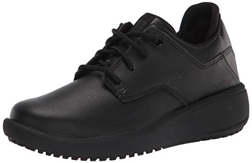 Caterpillar womens Prorush Sr+ Oxford Wmn Food Service Shoe, Black, 6.5 US