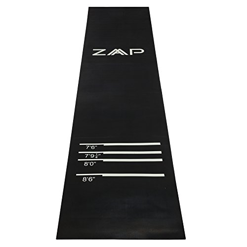 ZAAP Heavy Duty Darts Mat with Throw Lines - Suitable for All...