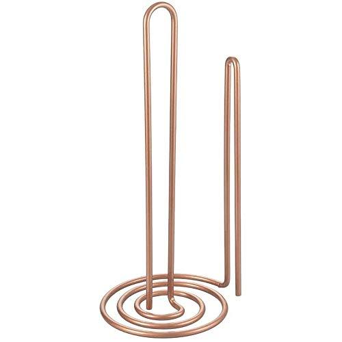 Metaltex MyRoll Papierrollenhalter, Metall, Kupfer, 15x32cm