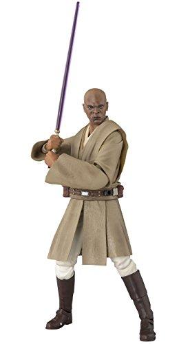 Bandai- Star Wars Mace Windu Figura, 15 cm