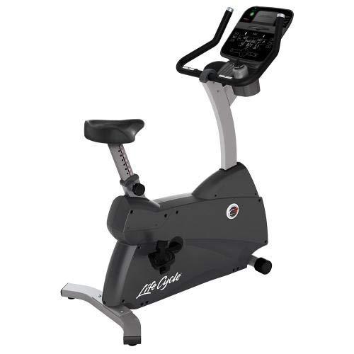 Life Fitness - Bicicleta estática C3 con Consola Track Connect