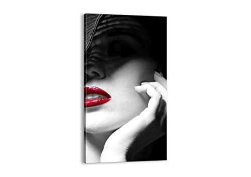ARTTOR Quadro Soggiorno - Stampe Camera da Letto - Immagine su Tela - Home Decor - Quadretti da Parete Moderni - Various Graphic Themes - PA55x100-3618