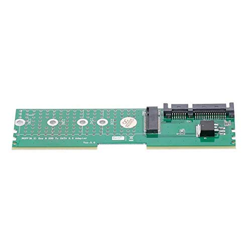 BINGFANG-W M.2 NGFF B-Key SSD a SATA DDR Memory Slot Slot Board Supraiser Riser Support 2230 2242 2260 2280 M2 SSD Tabla de Control