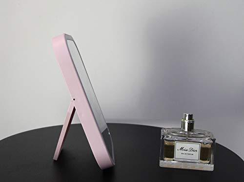 RAQ Make-up Spiegel Met Led Make-up Spiegel, Met Touch Dimmer Schakelaar, Voeding Stand Voor Desktop Badkamer Slaapkamer Reizen