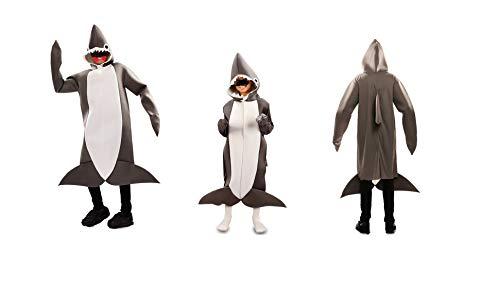 DM Disfraz de Tiburón. Varias tallas de niño, y talla única de adul