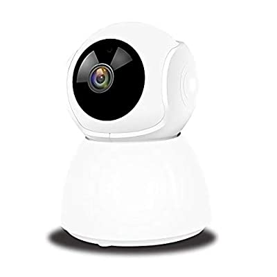 1080P Home Security Camera Wireless Indoor Surveillance Camera Smart 2.4G WiFi IP Camera and Motion Tracking for Baby/Pet Monitor with iOS&Android