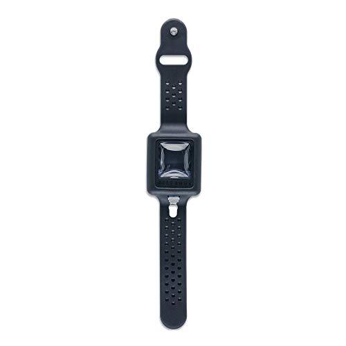 CLEANDS - Desinfektionsarmband, Armband mit Desinfektionsmittel wiederaufladbar, Spender für Handdesinfektion – Schwarz